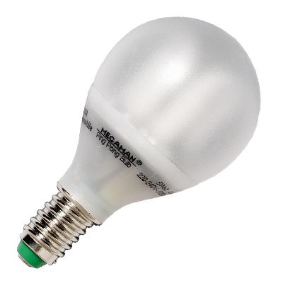 Megaman Energiesparlampe PINGPONG PING PONG MM19122 9 Watt - 9W / E27 / 827