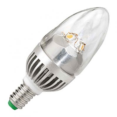 Megaman LED KERZE MM21003 5 Watt - 5W / E14 / 828 / matt glatt: Auslaufmodell - Sonderpreis: 2 Stück auf Lager