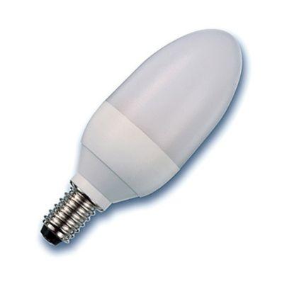 Radium Energiesparlampe RALUX KERZE 7 Watt - 7W / E14 / 825