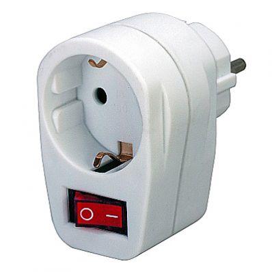 розетка электрическая силовая штекерная с заземлением